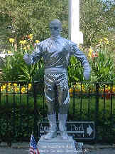 Robot Man in Central Park - New York